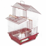 Prevue Hendryx House Style Bird Cage - Red
