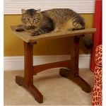 Mr. Herzher's Single Cat Seat Cat Furniture - Early American