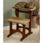 Mr. Herzher's Double Cat Seat Cat Furniture - Early American