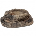 Jungle Bob Terrarium Bowl/Feed Dish Set: Stone Style