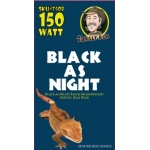 Jungle Bob Nocturnal Heat Bulb: Black As Night, 150W