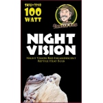 Jungle Bob Infared Heat Bulb: Night Vision, 100W
