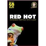 Jungle Bob Night Heat Lamp: Red, Hot, 50W