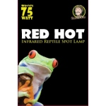 Jungle Bob Night Heat Lamp: Red, Hot, 75W