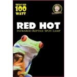 Jungle Bob Night Heat Lamp: Red, Hot, 100W