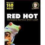 Jungle Bob Night Heat Lamp: Red, Hot, 150W