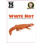 Jungle Bob Daytime Basking Lamp: White, Hot, 25W