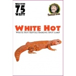 Jungle Bob Daytime Basking Lamp: White, Hot, 75W
