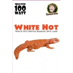 Jungle Bob Daytime Basking Lamp: White, Hot, 100W