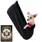 Plain Puppy Holdem Sling / Black trim Size Sm/Md