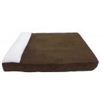 Carolina Pet Products Large Pet Lounger Xlg: CHOCOLATE