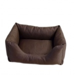 Carolina Pet Products BRUTUS TUFF KUDDLE LOUNGE: Chocolate