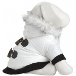 Pet Life Aspen Winter-White Fashion Pet Parka Coat: Small, Winter White