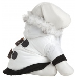 Pet Life Aspen Winter-White Fashion Pet Parka Coat: Large, Winter White