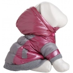 Pet Life Sporty Vintage Aspen Pet Ski Jacket: X-Small, Pink