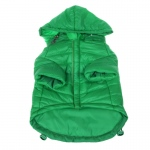 Pet Life Galore Back-Buckled Fashion Wool Pet Coat: X-Small, Olive Green