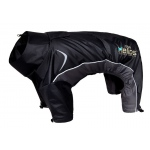 Helios Blizzard Full-Bodied Adjustable and 3M Reflective Dog Jacket: Medium, Black