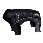 Helios Blizzard Full-Bodied Adjustable and 3M Reflective Dog Jacket: Large, Black