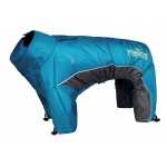 Helios Blizzard Full-Bodied Adjustable and 3M Reflective Dog Jacket: Small, Blue