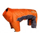 Helios Blizzard Full-Bodied Adjustable and 3M Reflective Dog Jacket: Medium, Orange
