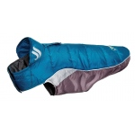 Helios Hurricane-Waded Plush 3M Reflective Dog Coat w/ Blackshark technology: Medium, Blue Wave