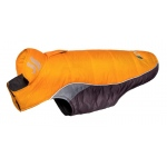 Helios Hurricane-Waded Plush 3M Reflective Dog Coat w/ Blackshark technology: X-Small, Sporty Orange
