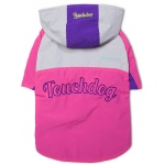 Touchdog Mount Pinnacle Pet Ski Jacket: Large, Pink