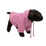 Pet Life Fashion Plush Cotton Pet Hoodie Hooded Sweater: Small, Pink
