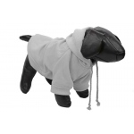Pet Life Fashion Plush Cotton Pet Hoodie Hooded Sweater: Large, Grey