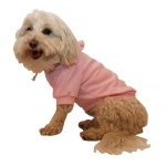 Pet Life French Terry Pet Hoodie Hooded Sweater: X-Small, Pink