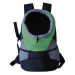 Pet Life On-The-Go Supreme Travel Bark-Pack Backpack Pet Carrier: One Size, Green