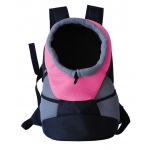 Pet Life On-The-Go Supreme Travel Bark-Pack Backpack Pet Carrier: One Size, Pink