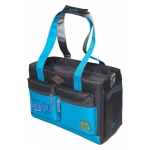 Touchdog Active-Purse Water Resistant Dog Carrier: One Size, Turquoise Blue, Black