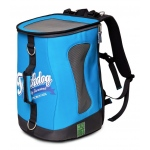 Touchdog Ultimate-Travel Airline Approved Backpack Carrying Water Resistant Pet Carrier: One Size, Turquoise Blue