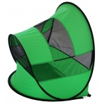 Pet Life Pet Life Modern Curved Collapsible Outdoor Pet Tent: One Size, Green