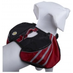 Pet Life Everest Pet Backpack: X-Small, Red