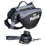 Helios Freestyle 3-in-1 Explorer Convertible Backpack, Harness and Leash: Medium, Black