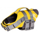 Helios Splash-Explore Outer Performance 3M Reflective and Adjustable Buoyant Dog Harness and Life Jacket: Medium, Yellow