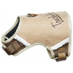 Touchdog Tough-Boutique Adjustable Fashion Dog Harness: Small, Light Sand Brown