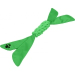 Pet Life Extreme Twist' Squeak Pet Rope Toy: One Size, Green
