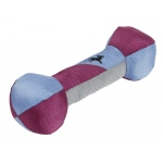 Pet Life Active-Fetch Nylon Floatation Bone Chew-Tough Dog Toy: One Size, Purple, Blue