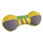 Pet Life Pet Life Bark-Active Neoprene Mesh Flotation Bone Fetch Dog Toy: One Size, Yellow, Green