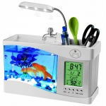 Pet Life All-In-One Digital Desktop Aquarium: One Size, White