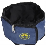 Pet Life Wallet Travel Pet Bowl: One Size, Blue