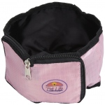 Pet Life Wallet Travel Pet Bowl: One Size, Pink