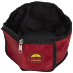 Pet Life Wallet Travel Pet Bowl: One Size, Red