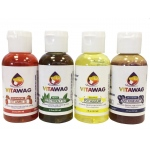 Vitawag All Natural Super Concentrated Dog and Cat Liquid Supplements: 4 Assorted Pack, Assorted