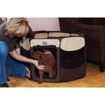 Pet Gear Travel Lite Soft-Sided Pet Pen - Medium/Sahara