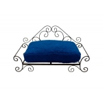 Big Heart Blue Pet Bed