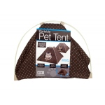 Bulk buys Portable pet tent with soft fleece pad